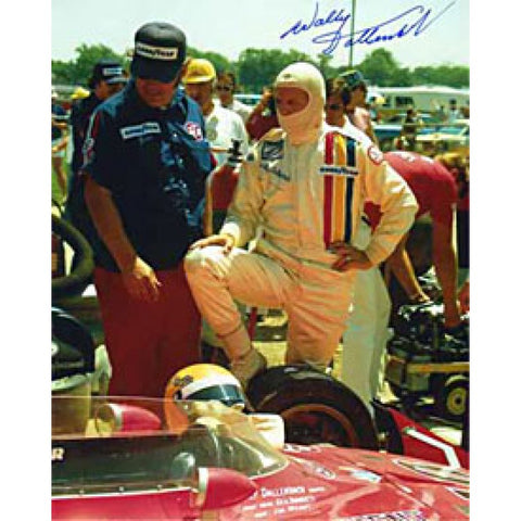 Wally Ballenback Autographed 8x10 Racing Photo