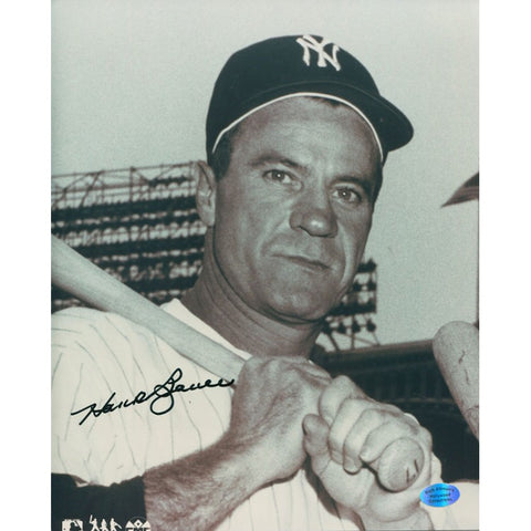 Hank Bauer Autographed 8x10 Baseball Photo