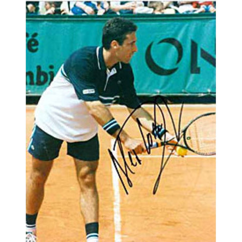 Alex Corretja Autographed Tennis 8x10 Photo