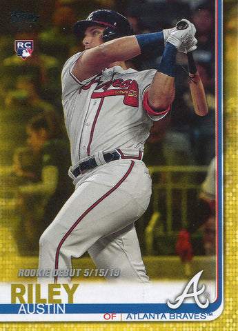 Austin Riley 2019 Topps Rookie Card #US252