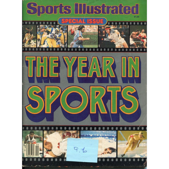 1980 Sports Illustrated Special Issue The Year In Sports