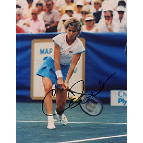 Chris Evert Autographed / Signed Tennis 8x10 Photo
