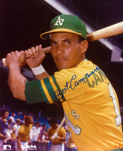 Bert Campaneris Autographed 8x10 Photo