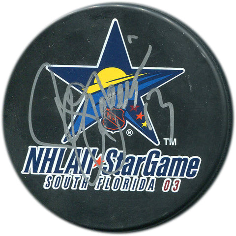 Bill Guerin Autographed 2003 All Star Game Puck