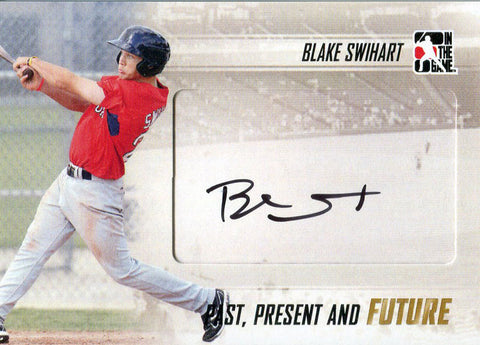 Blake Swihart Autographed 2013 In the Game Card