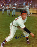Bob Lemon Autographed 8x10 Cincinnati Photo