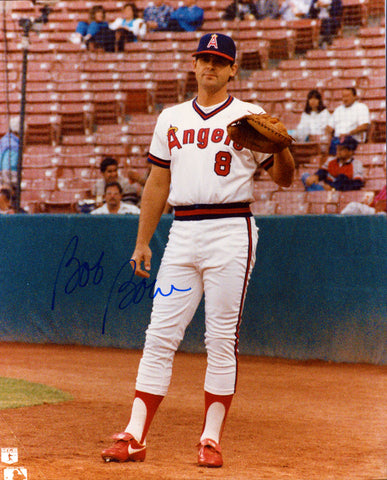 Bob Boone Autographed 8x10 Photo