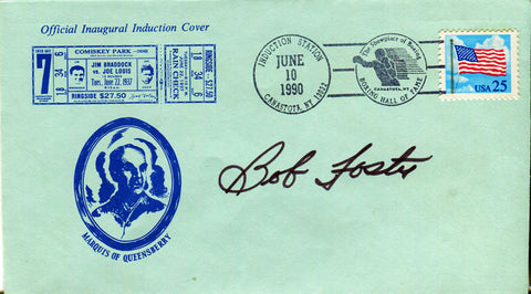 Bob Foster Autographed First Day Cover