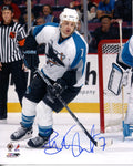 Brad Stuart Autographed San Jose Sharks 8x10 Photo