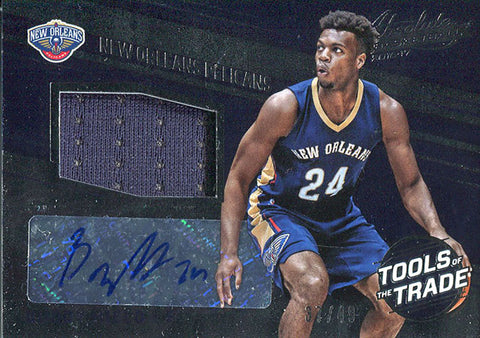 Buddy Hield Autographed 2016-17 Panini Absolute Basketball Card