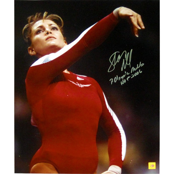 Shannon Miller 7 Olympic Medals HOF 2008 Autographed 16x20 Photo