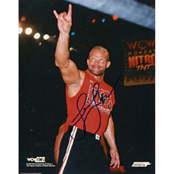 Lex Luger Autographed / Signed Wrestling 8x10 Photo