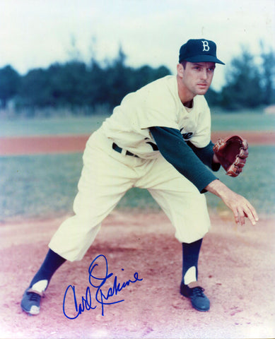 Carl Erskine Autographed 8x10 Photo