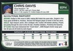 Chris Davis Unsigned 2008 Bowman Chrome Rookie Card