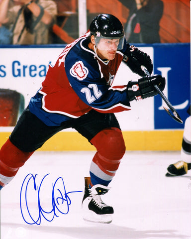 Claude Lemieux Autographed Colorado Avalanche 8x10 Photo