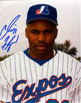 Cliff Floyd Autographed 8x10 Photo