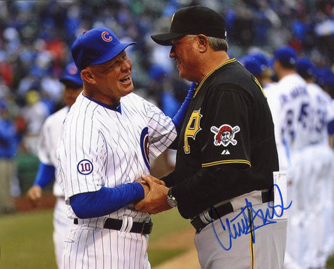 Clint Hurdle Autographed 8x10 Photo