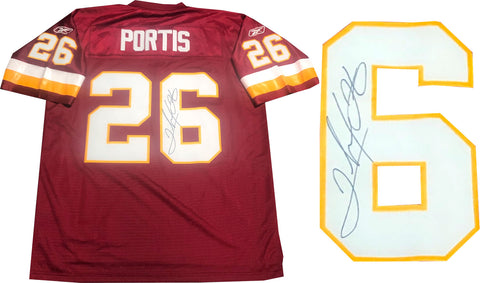 Clinton Portis Autographed Washington  Authentic Jersey