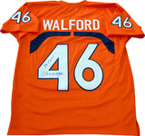 Clive Walford Go Canes Autographed University of Miami Hurricanes Jersey (JSA)