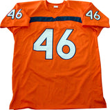 Clive Walford Go Canes, So Icy Autographed University of Miami Hurricanes Jersey (JSA)