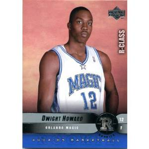 Dwight Howard Unsigned 2004-2005 Upper Deck Rookie Card