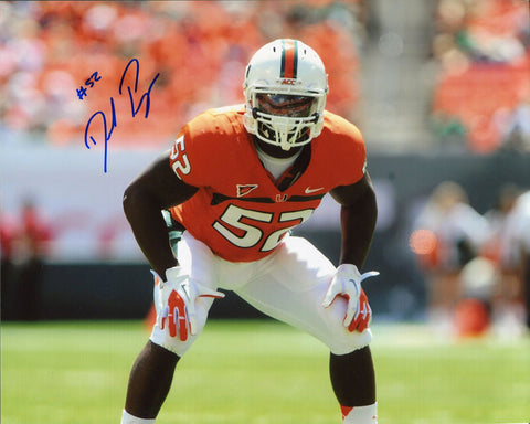 Denzel Perryman Autographed 8x10 Photo
