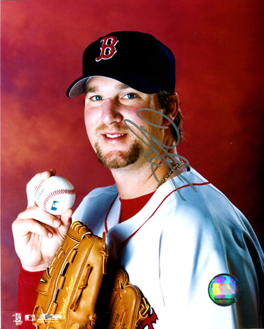 Derek Lowe Autographed 8x10 Photo