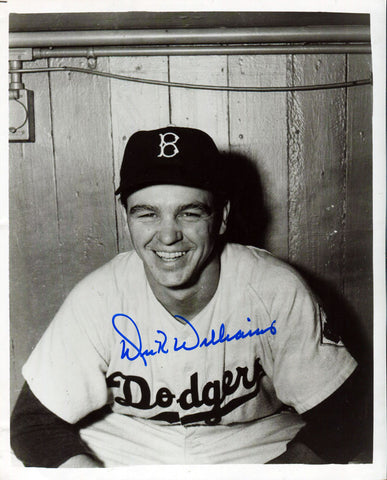 Dick Williams Autographed 8x10 Photo