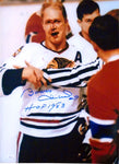 Bobby Hull HOF 83 Autographed 16x20 Photo (JSA)