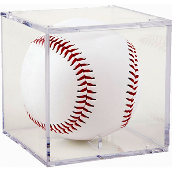 Baseball Acrylic Display Cube
