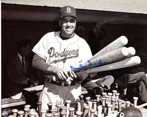 Duke Snider Autographed 8x10 Photo