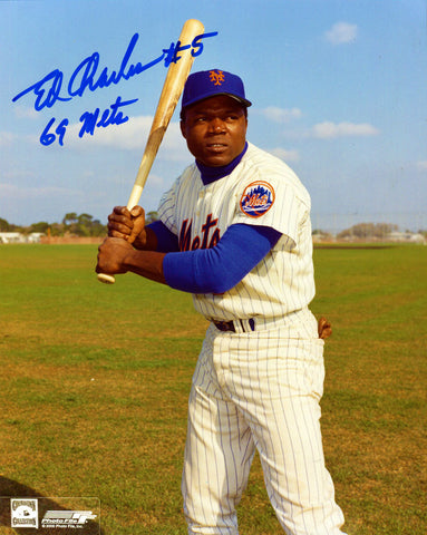 Ed Charles Autographed 8x10 Photo
