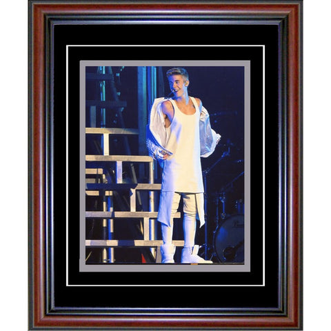 Justin Bieber Unsigned Framed 8x10 Photo