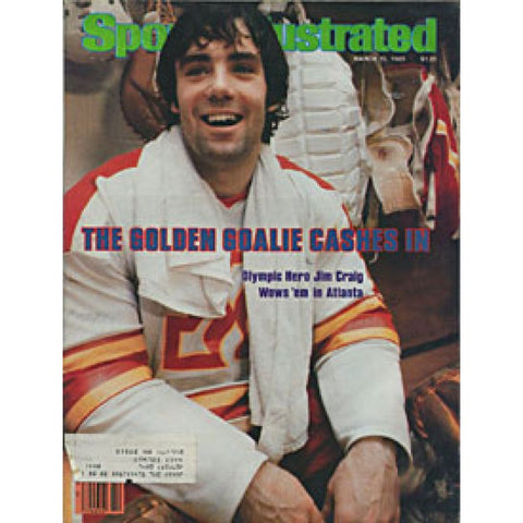 Jim Craig 1980 Sports Illustrated Magazine