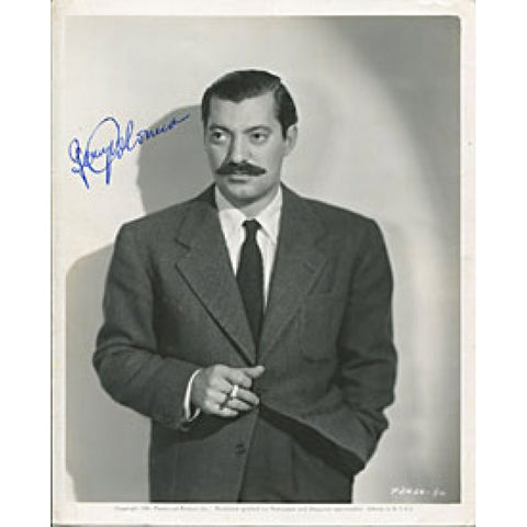 Jerry Colonna Autographed/Signed 8x10 Photo