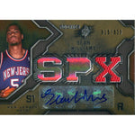 Sean Williams Autographed 2007-2008 Upper Deck SPx Jersey Card