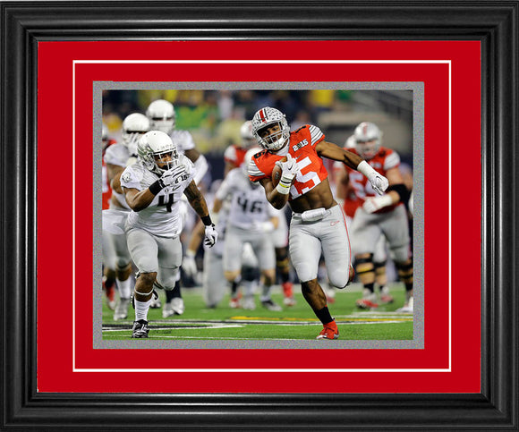 Ezekiel Elliott Framed Touchdown Run 8x10 Photo