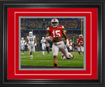 Ezekiel Elliott Framed Touchdown 8x10 Photo