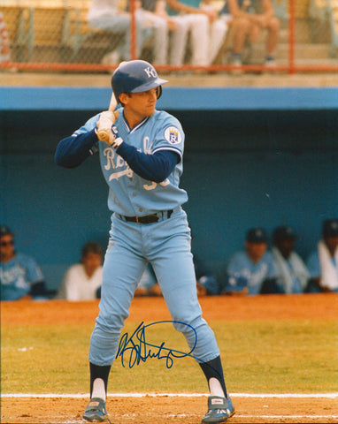 Kevin Seitzer Autographed 8x10 Photo