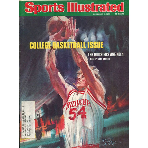 Kent Benson December 1 1975 Sports Illustrated Magazine