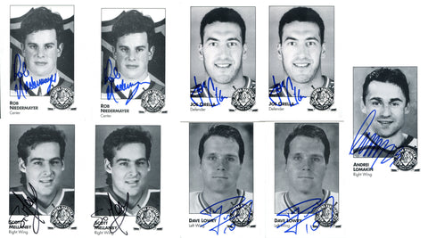 Florida Panthers Autographed Card Set