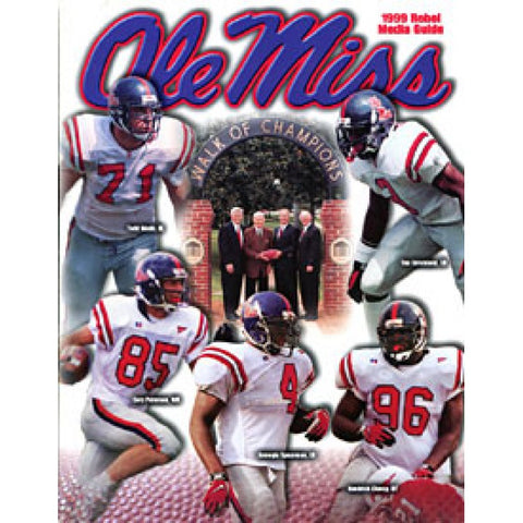 1999 University of Mississippi Unsigned Media Guide