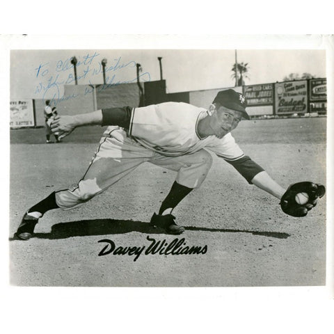 Davey Williams Autographed/Signed 8x10 Photo