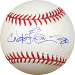 Delmon Young Autographed Baseball