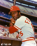 George Foster Autographed 8x10 Reds Photo