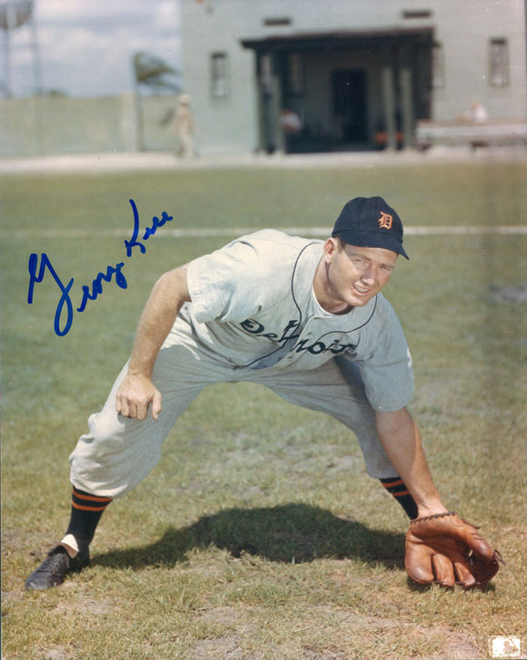 George Kell Autographed 8x10 Photo