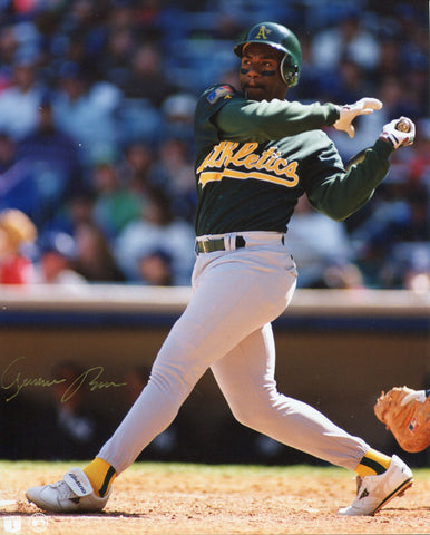 Geronimo Berroa Autographed 8x10 Photo