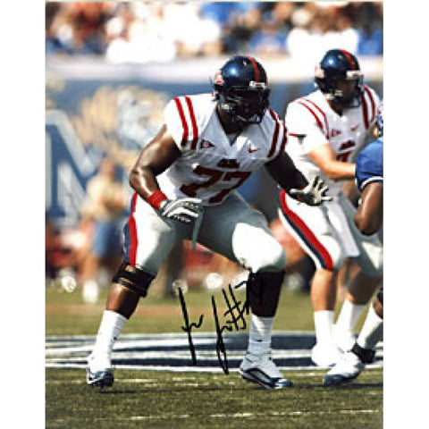 Jon Jerry Autographed / Signed Ole Miss Rebels 8x10 Photo