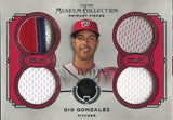 Gio Gonzalez Unsigned 2013 Topps Museum Collection Jersey Card