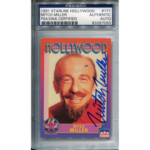 Mitch Miller Autographed Starline Hollywood Card